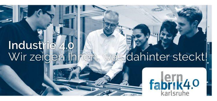 Homepage der Lernfabrik 4.0 geht online