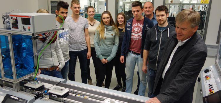 Besuch beim Lernfabrik 4.0-Partner Festo