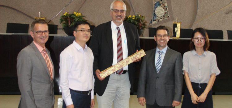 Besuch unserer chinesischen Austauschschüler