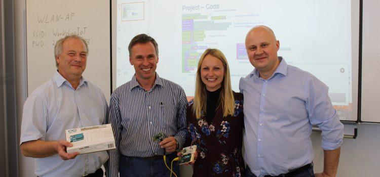 Die Tür twittert! CISCO-Workshop mit Eugene Morozov
