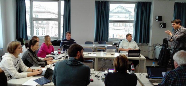 Klausurtagung der Tablet-Projektgruppe