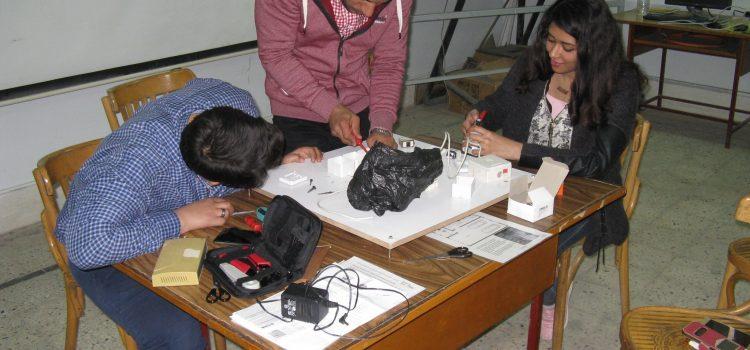 Schulung ägyptischer Kollegen in Assiut