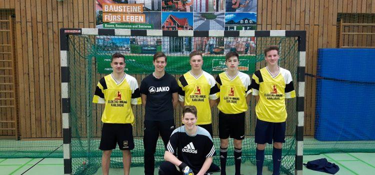 Heinrich-Hertz-Team Vierter beim Futsal-Cup Karlsruher Berufsschulen