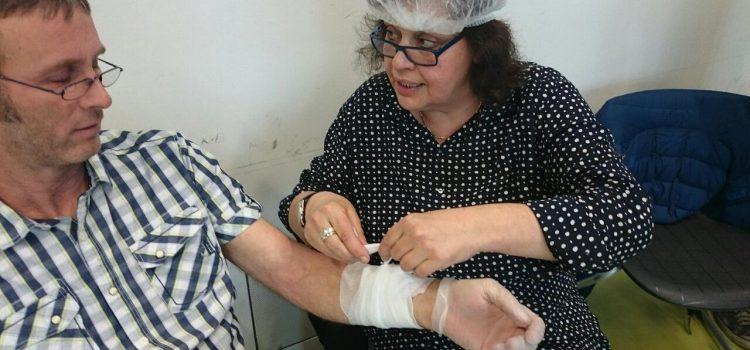Ersthelfer-Training an der HHS