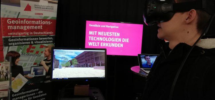 1BK2T auf dem Campustag der Hochschule Karlsruhe