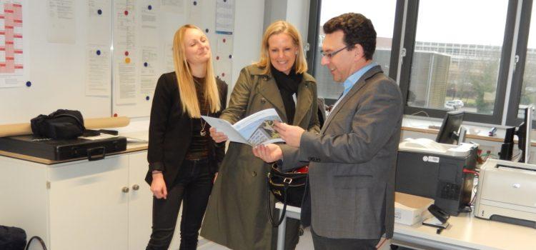 Marketing Leader von CISCO besucht die HHS