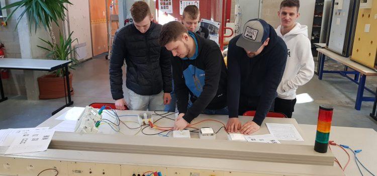 Azubi–BacPro – Besuch der E2EG2 an der Partnerschule in Wissembourg