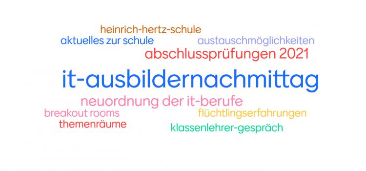Anstehender IT-Ausbildernachmittag online
